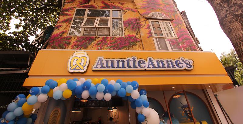 Auntie Anne's khai trương cửa hàng thứ hai tại 64A Quán Sứ - Hà Nội