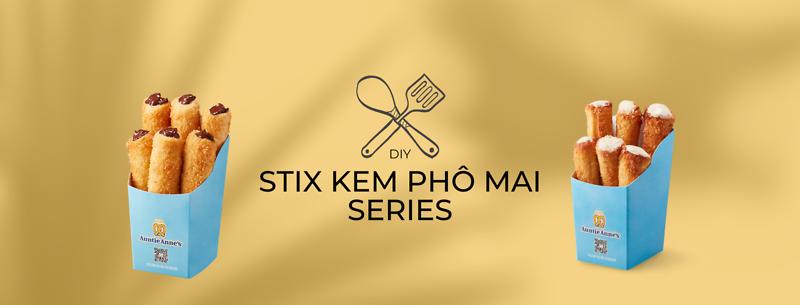 DIY At-home Pretzel Kit: Bạn đã biết cách làm 2 món Stix gây nghiện của Dì An?